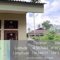 1 bidang tanah dengan total luas 122 M2 berikut bangunan di Kabupaten Mimika